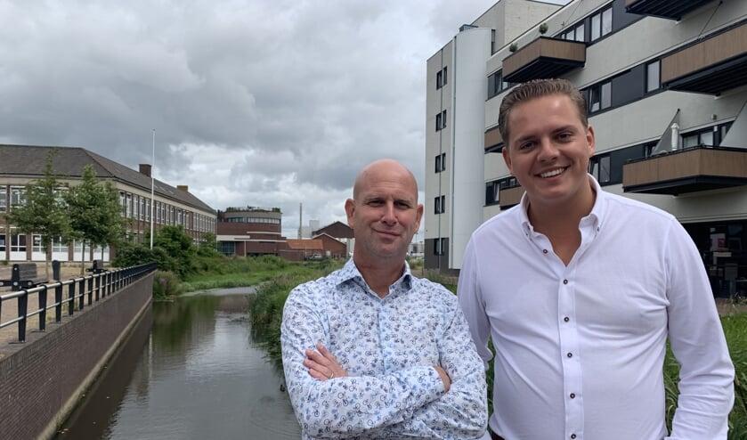 De financiële mannen: Erwin Broeren en Wiebe Keverkamp FOTO REMKO VERMUNT