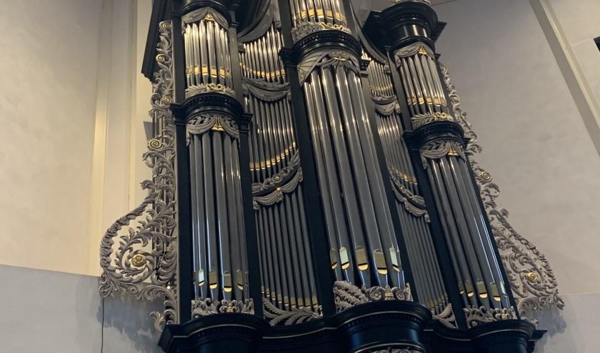 Van Oeckelen-Orgel Tholen. FOTO P. WILDEMAN