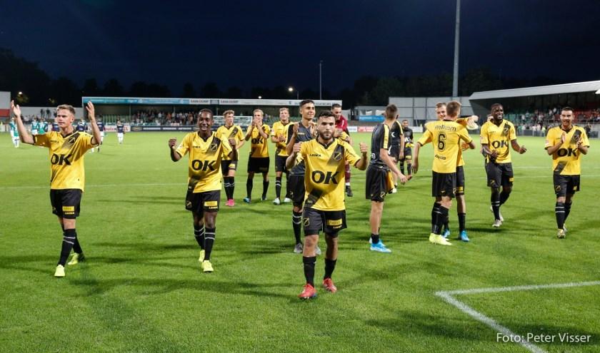 De wedstrijd tegen FC Dordrecht werd niet uitgezonden.