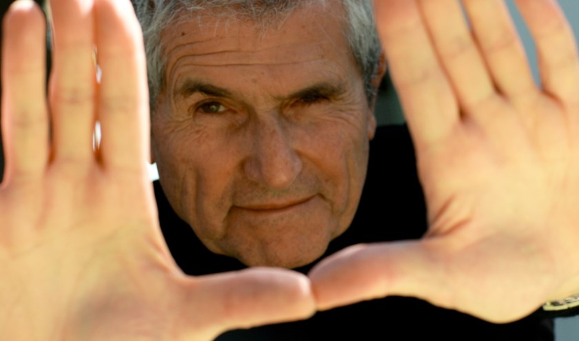 De Franse filmmaker Claude Lelouch krijgt de 'Career Achievement Award 2019'.