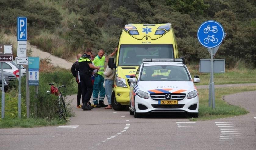 De politie en de ambulance kwamen ter plekke.