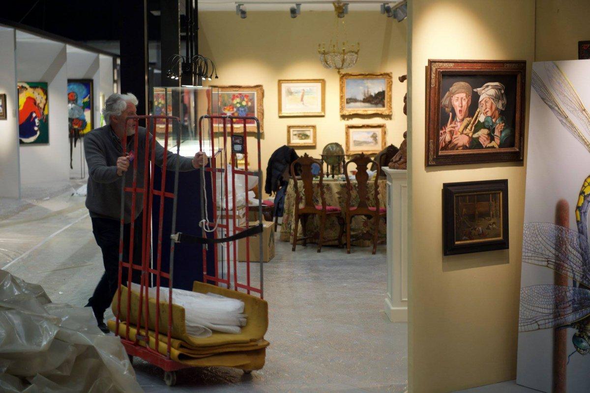 Laatste kunstwerken vinden plaatsje op ART Breda