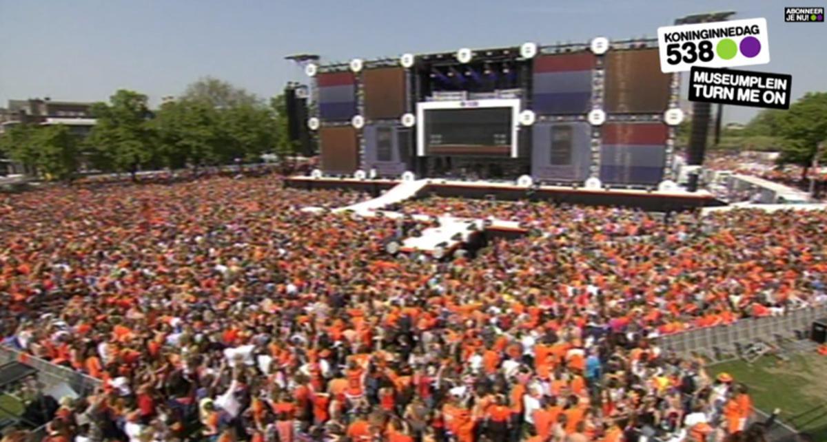 538 Koninginnedag in Amsterdam.