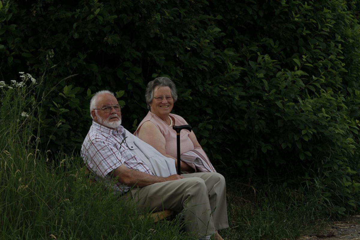 Bejaard echtpaar foto flickr