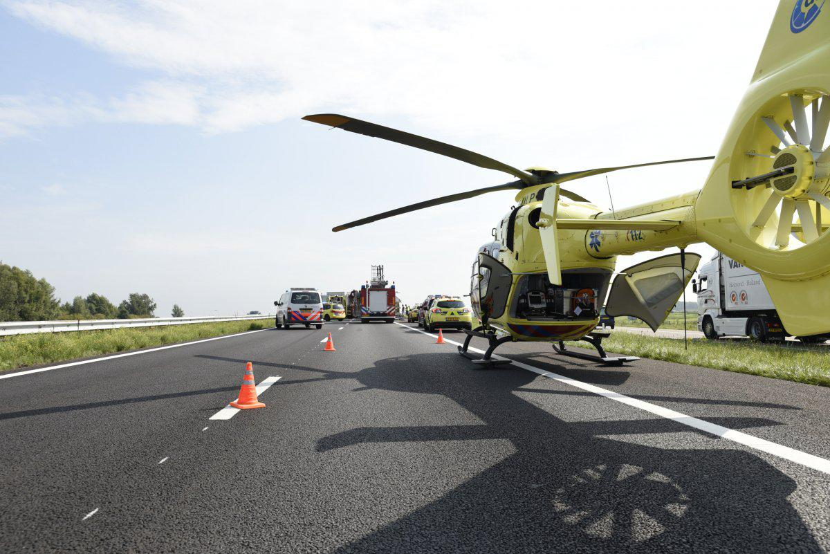 Traumaheli op A59