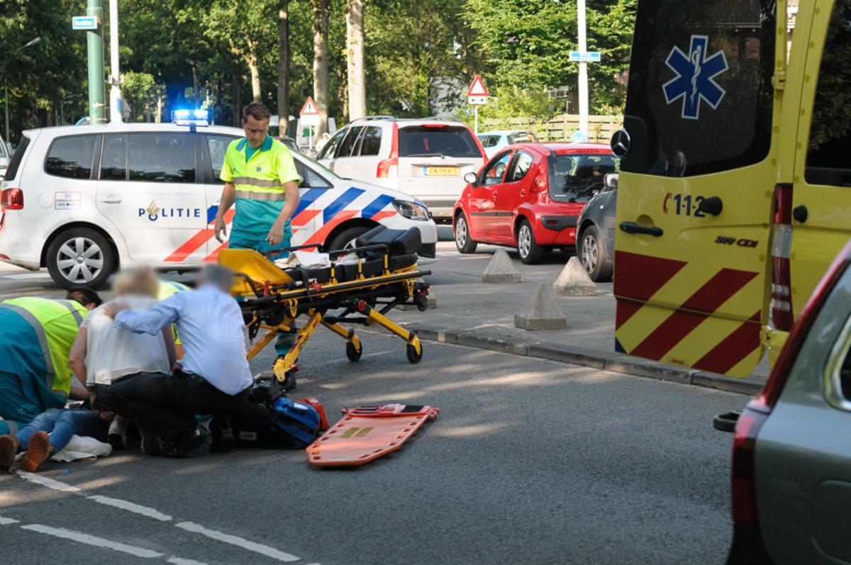 Ongeval Baronielaan foto Tom van der Put / SQ Vision
