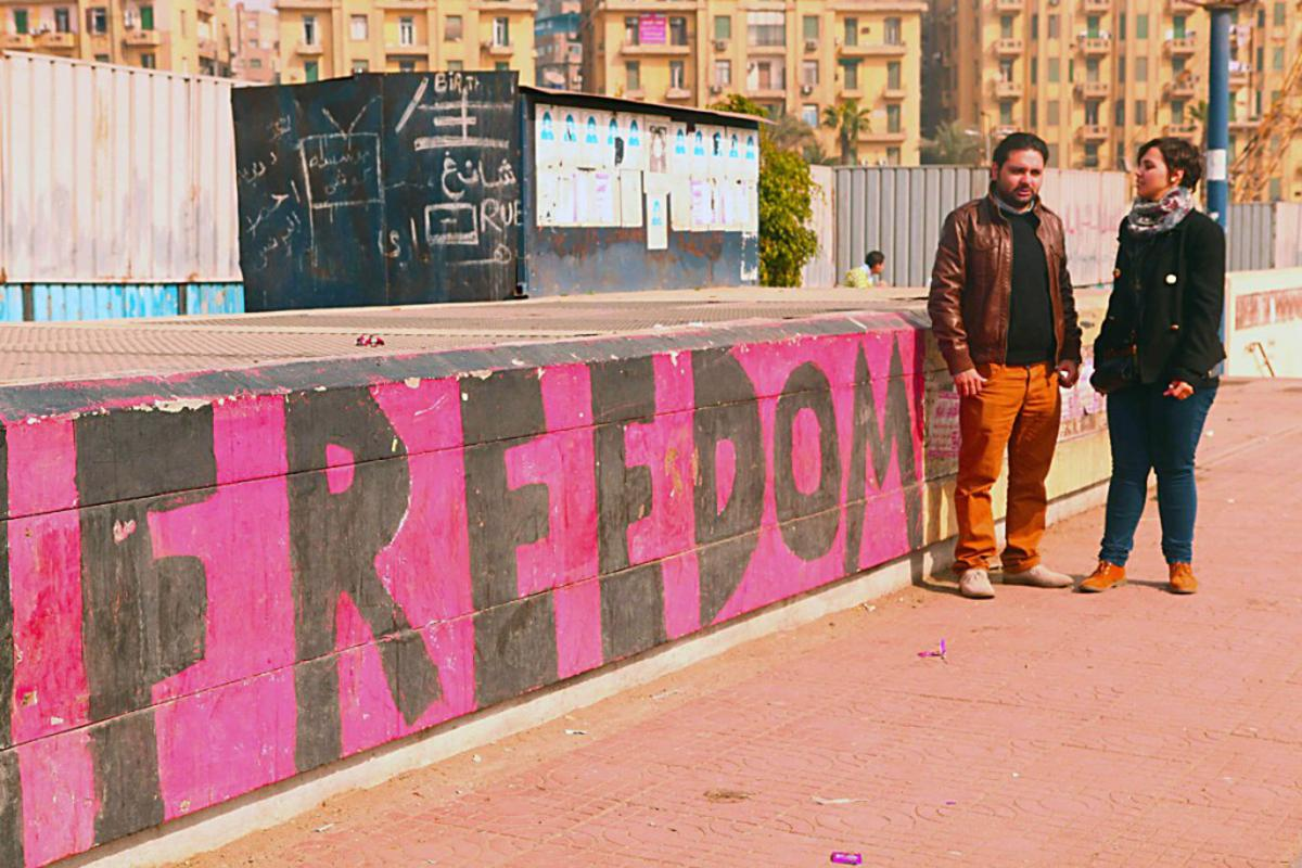 Een beeld uit een can de korte films over vrijheid, die vertoond worden tijdens het nieuwe festival About Freedom. foto About Freedom
