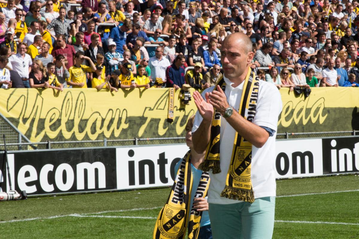 NAC nam zondag 31 augustus afscheid van Anthony Lurling. De Bosschenaar speelde 250 wedstrijden voor NAC.