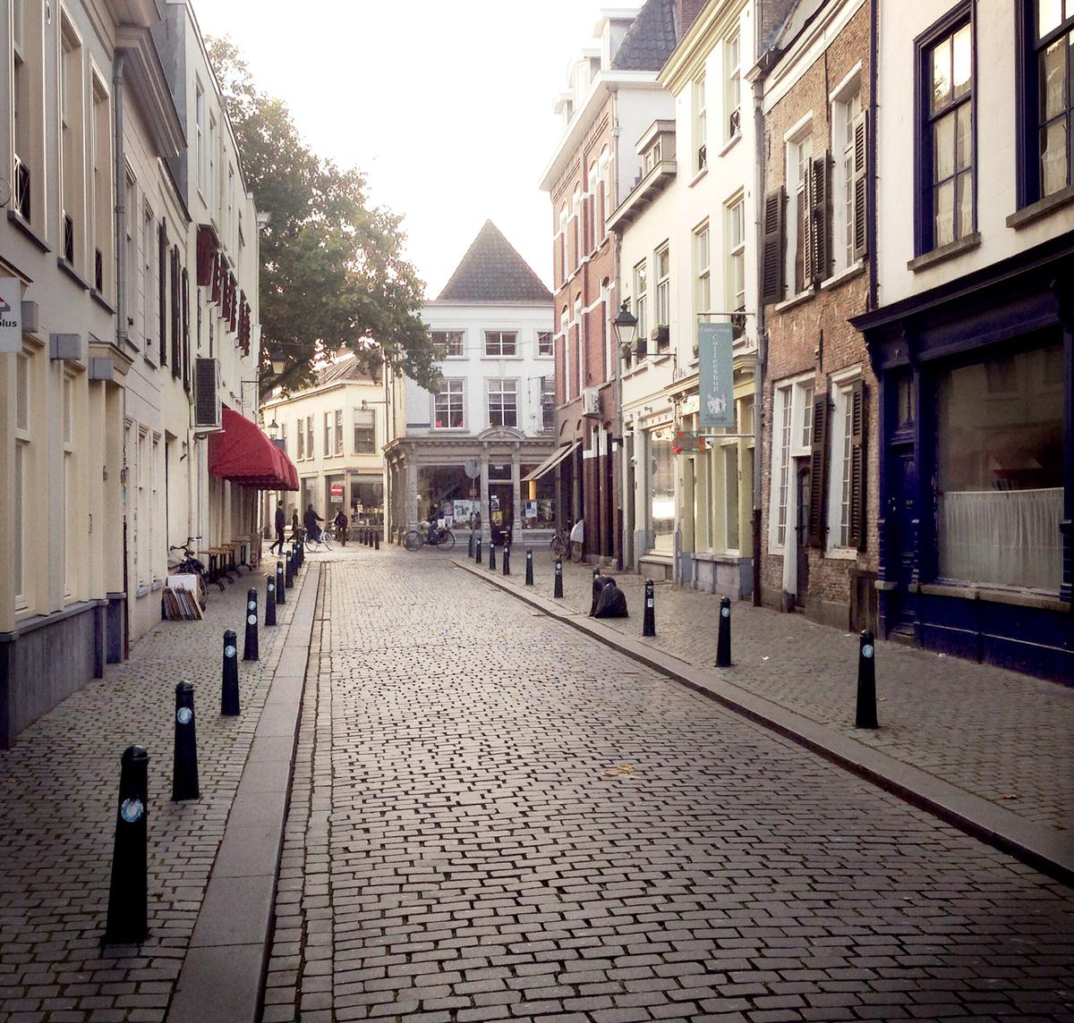 De Annastraat in Breda.