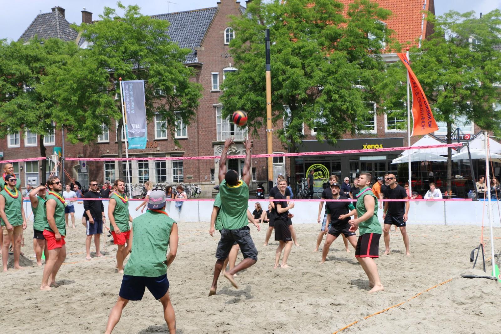 Middelburg Heeft Vijf Dagen Een Strand Vol Sport Middelburg