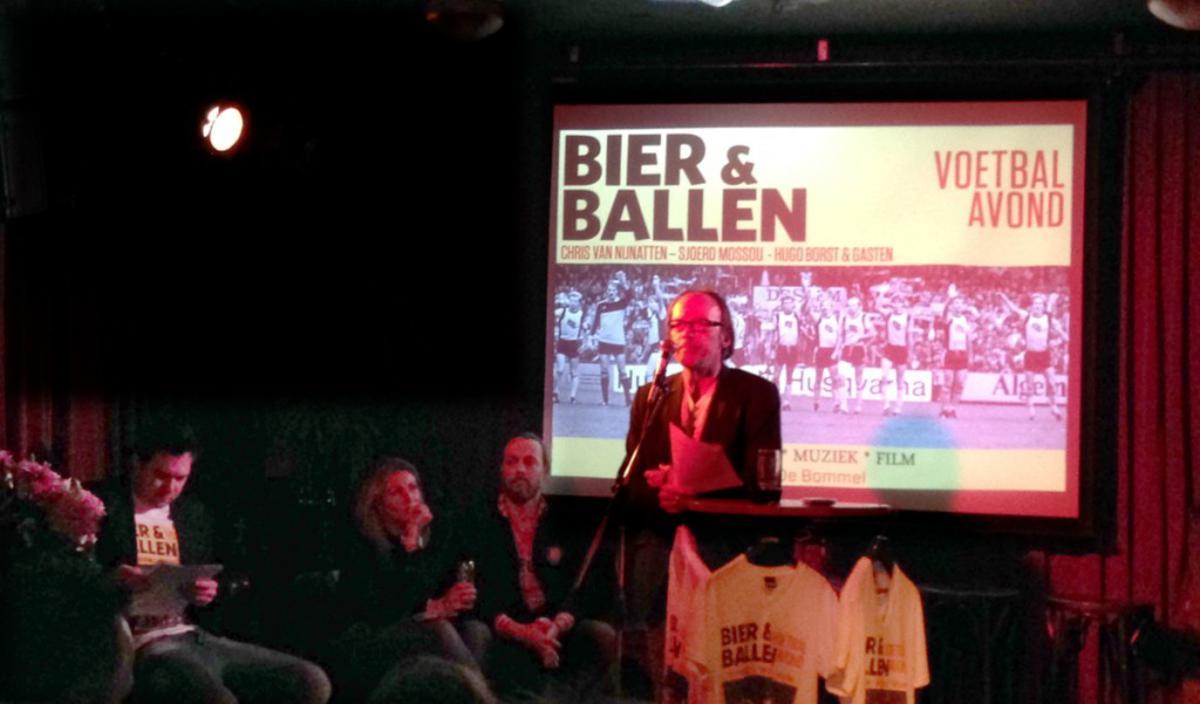 Bier en Ballen. foto Wijnand Nijs