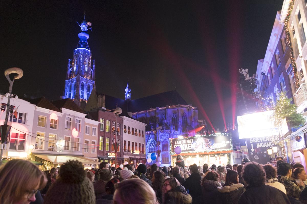 Breda staat deze week in het teken van Serious Request en Winterland Breda.