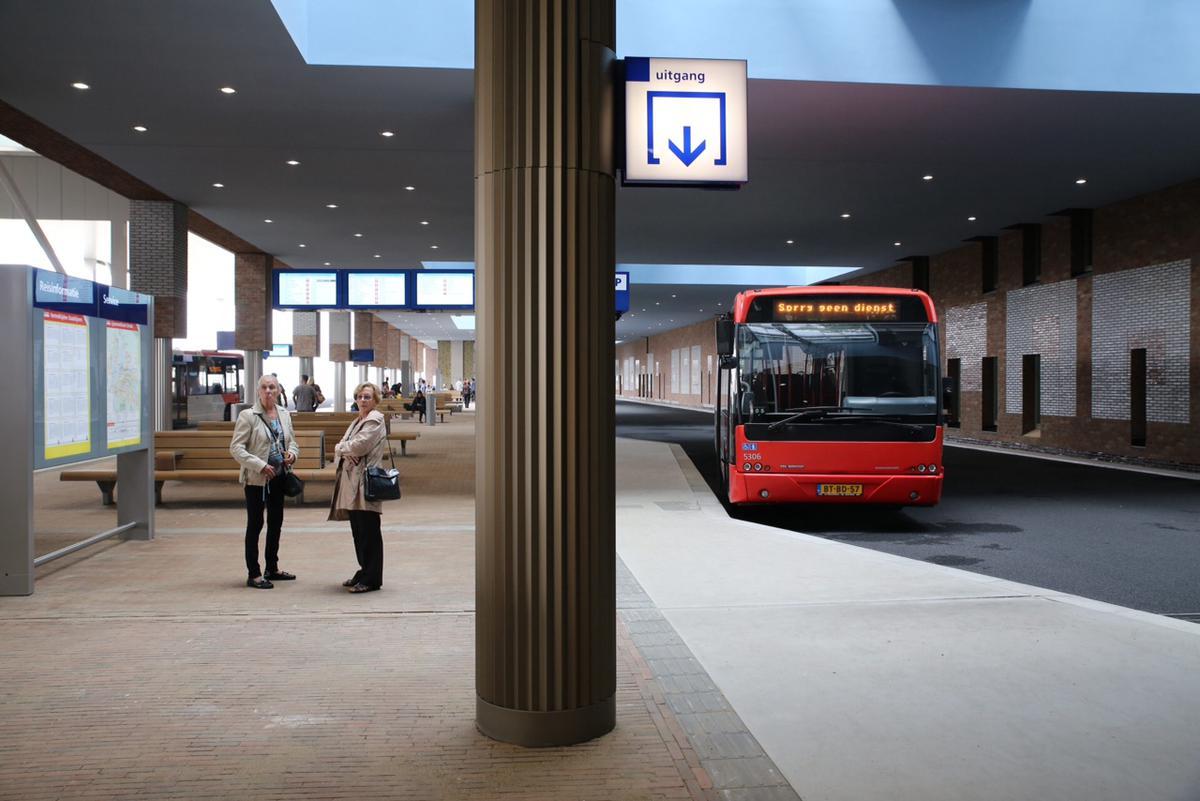 Opening busstation Breda Centraal, zondag 7 september.