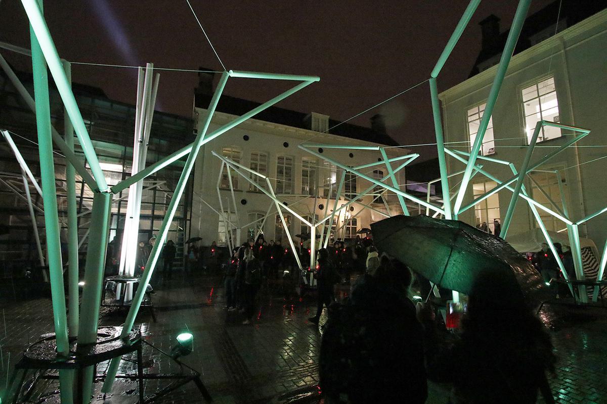 Impressie van de Cultuurnacht Breda op 22 januari 2016.