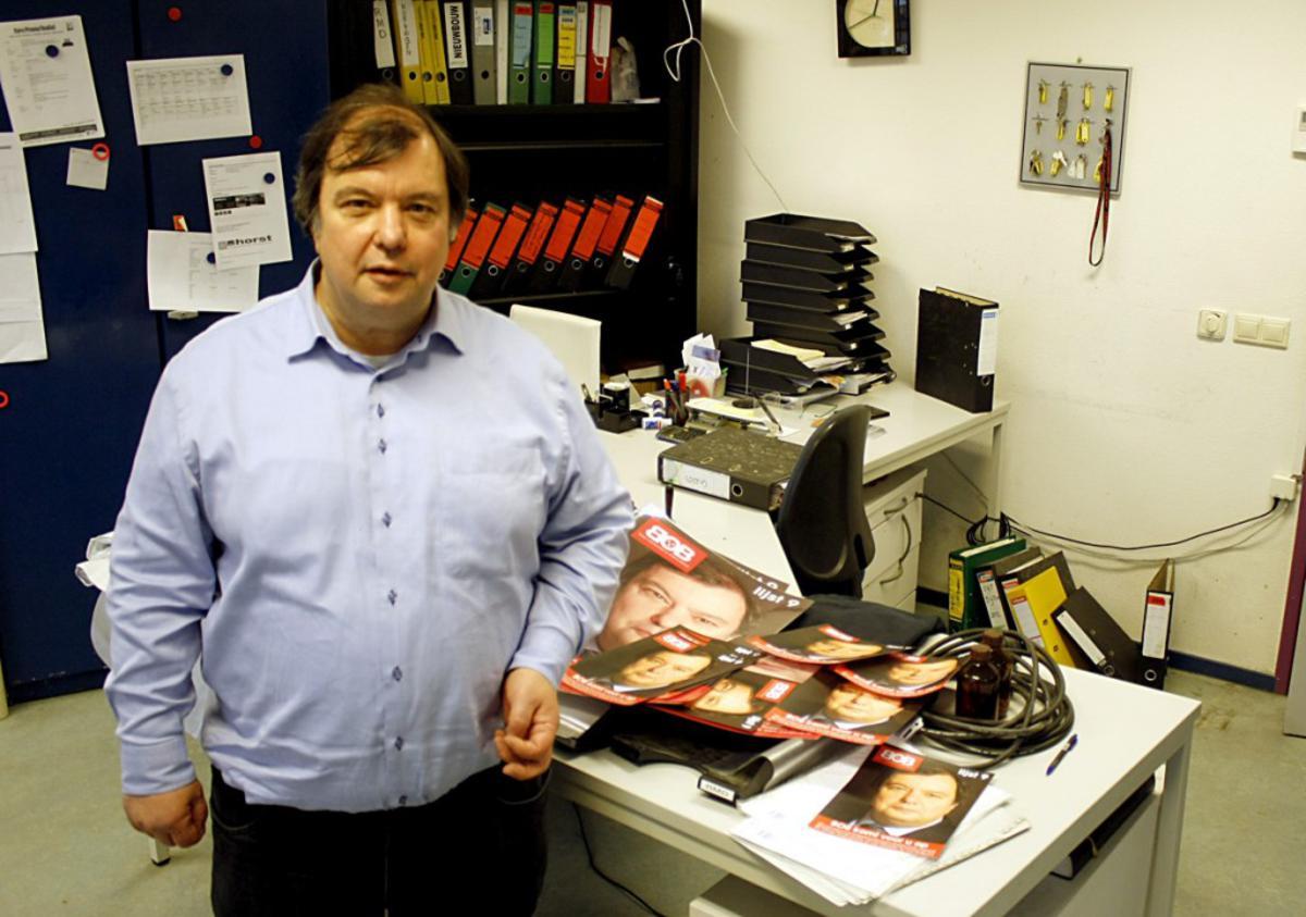 Cees van der Horst (lijstrekker BOB). foto Wijnand Nijs