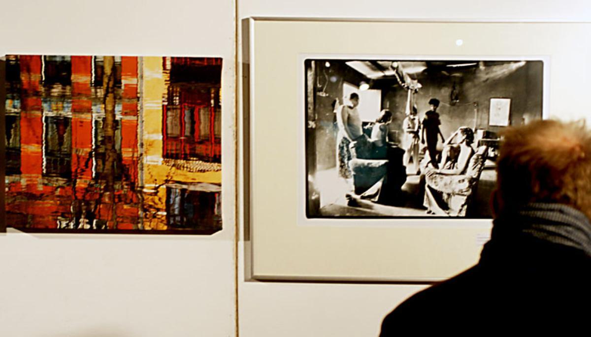 Wessel Keizer en Piet den Blanken exposeren samen in Elektron tot en met eind november. foto Wijnand Nijs