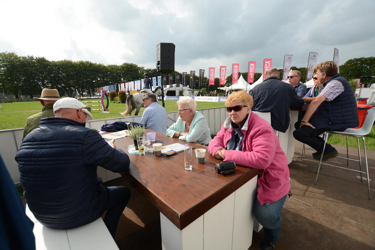 De eerste wedstrijddag van Outdoor Brabant 2018, donderdag 7 september.