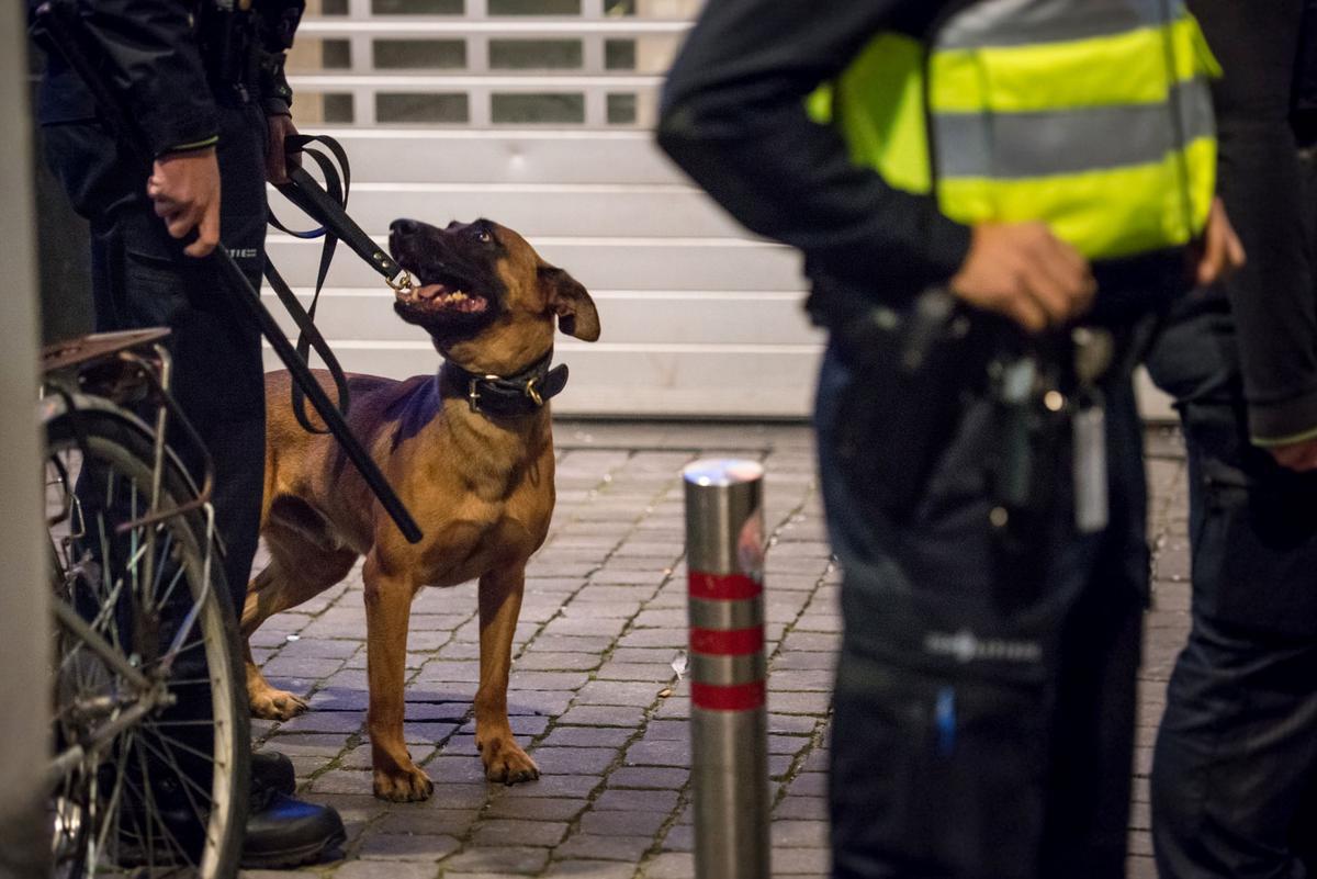 Ten minste twee mannen werden aangehouden na een vechtpartij in het Bredase centrum.