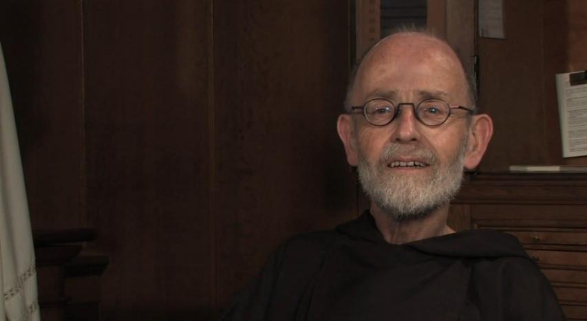 Een van de paters uit de serie korte films Kloosterverhalen. beeld YouTube