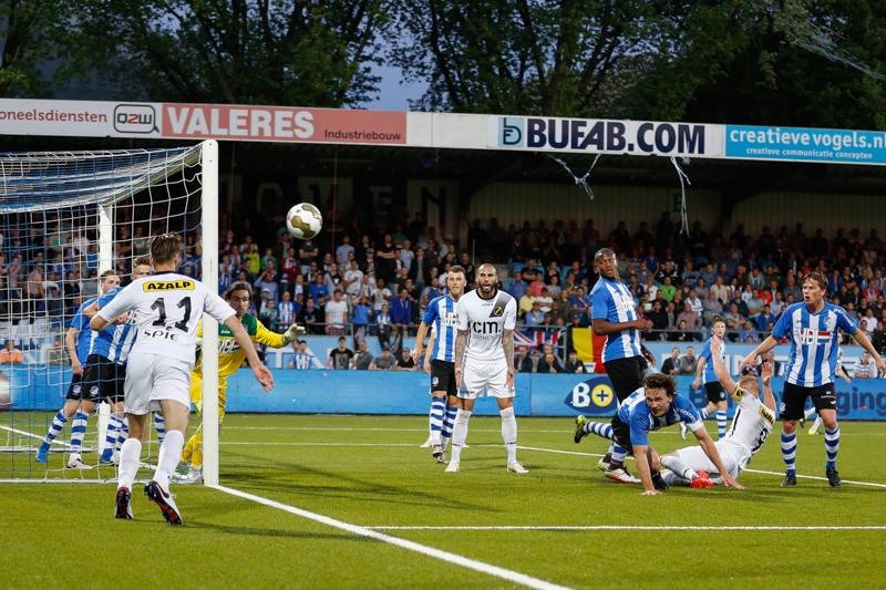 NAC heeft de eerste wedstrijd van de play-offs met 1-0 verloren van Eindhoven.
