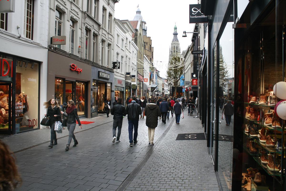 Eindstraat Breda Centrum.