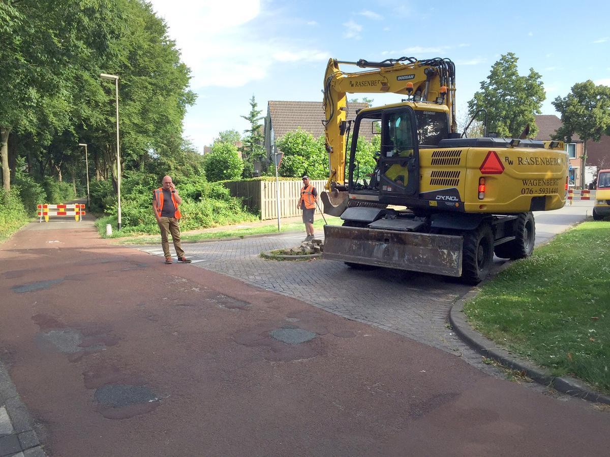 De gemeente Breda pakt op tien plaatsen in de Haagse Beemden fietspaden aan.