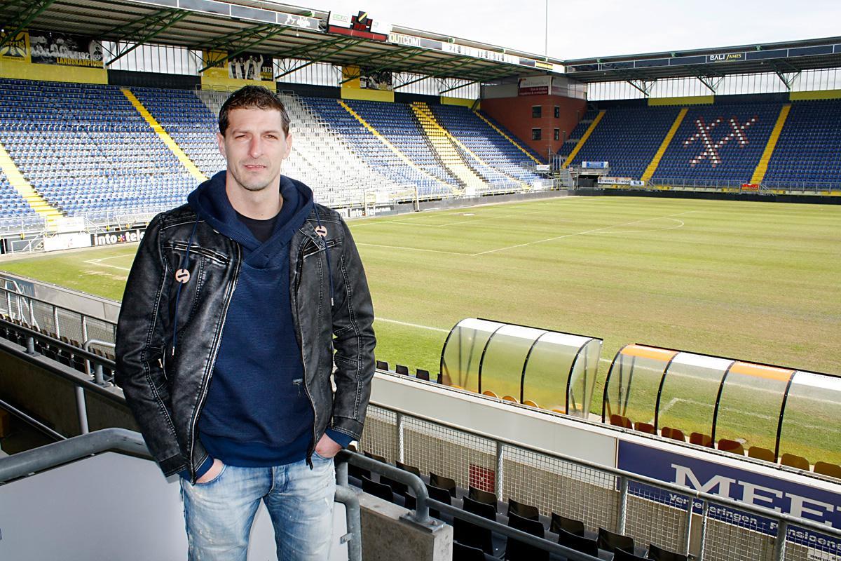 Gábor Babos staat komend seizoen weer bij NAC onder contract. foto Wijnand Nijs