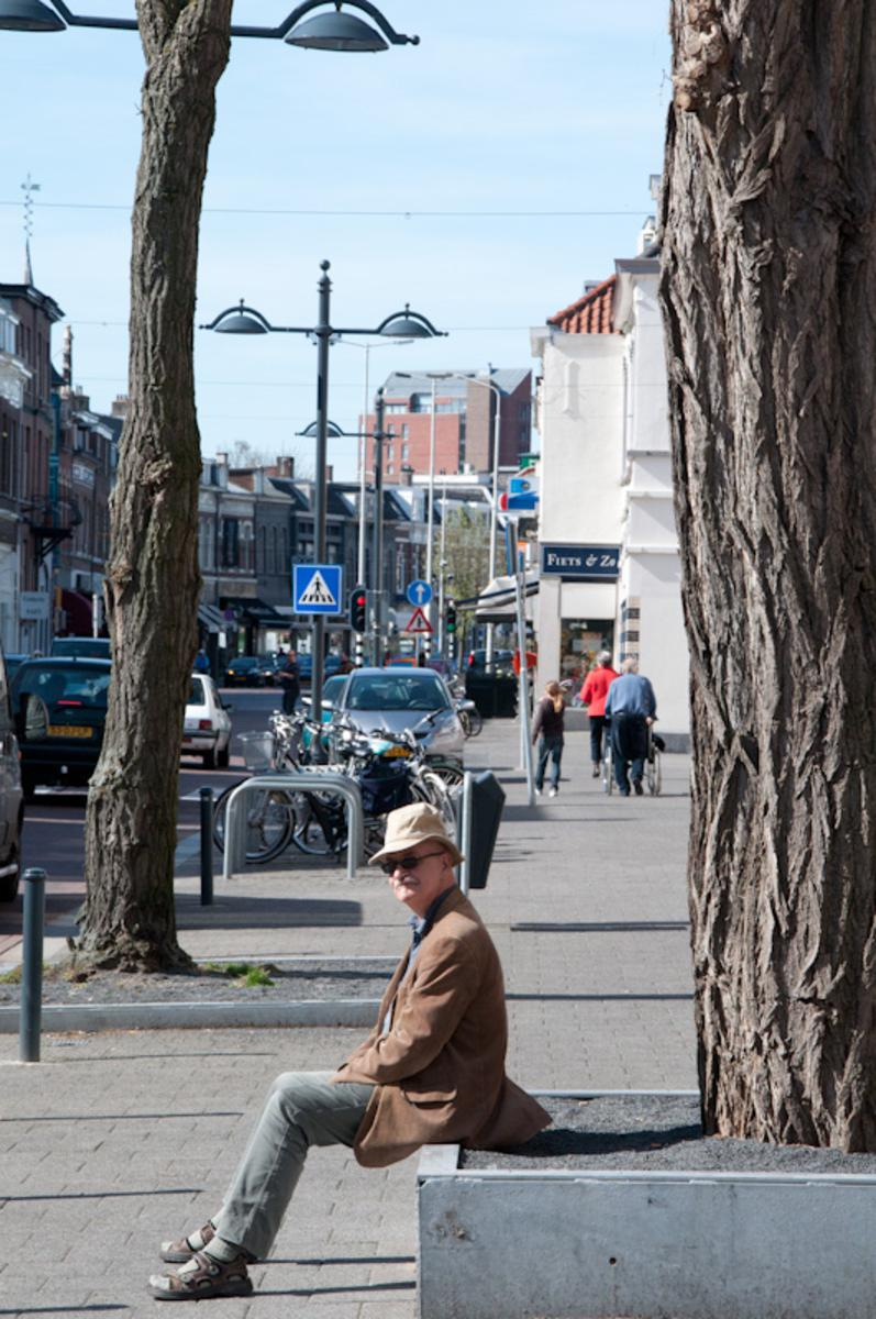 Het winkelgebied vanaf het Van Coothplein richting het Ginneken blijft zich ontwikkelen foto Thaddeuz