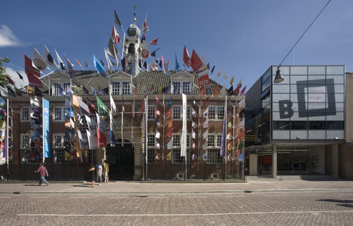 Het Graphic Design Museum in Breda, kort na de opening. foto Peter Cuypers