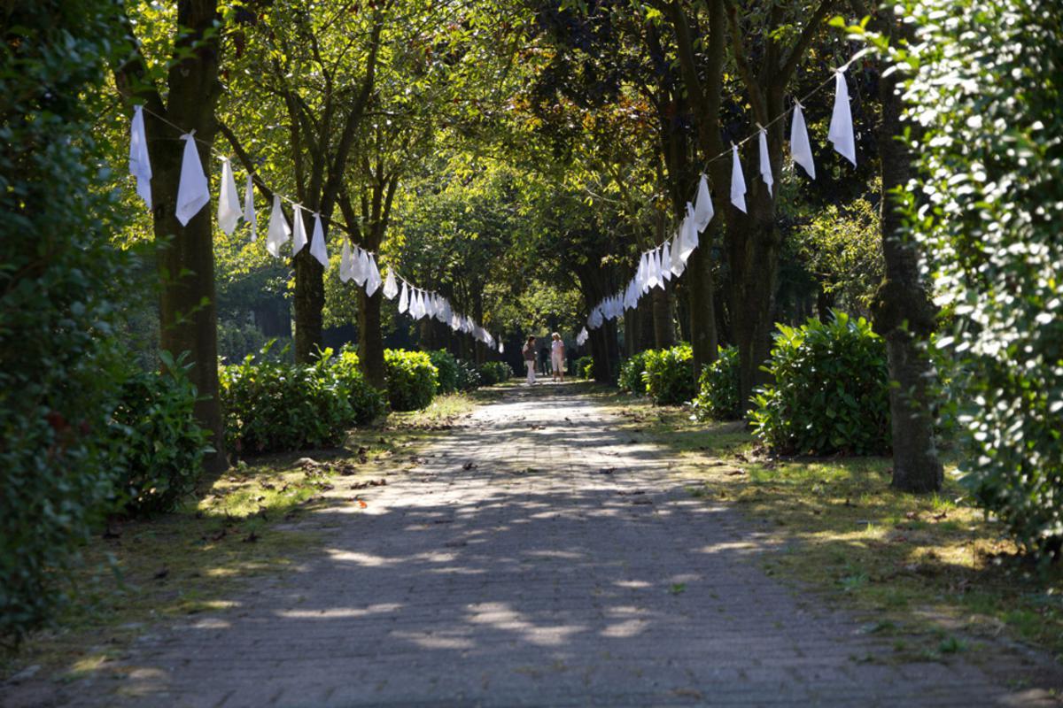 Open Monumentendag 2012 opende met als thema Groen van Toen deuren tot verrassende plaatsen. foto Dennis Schaap