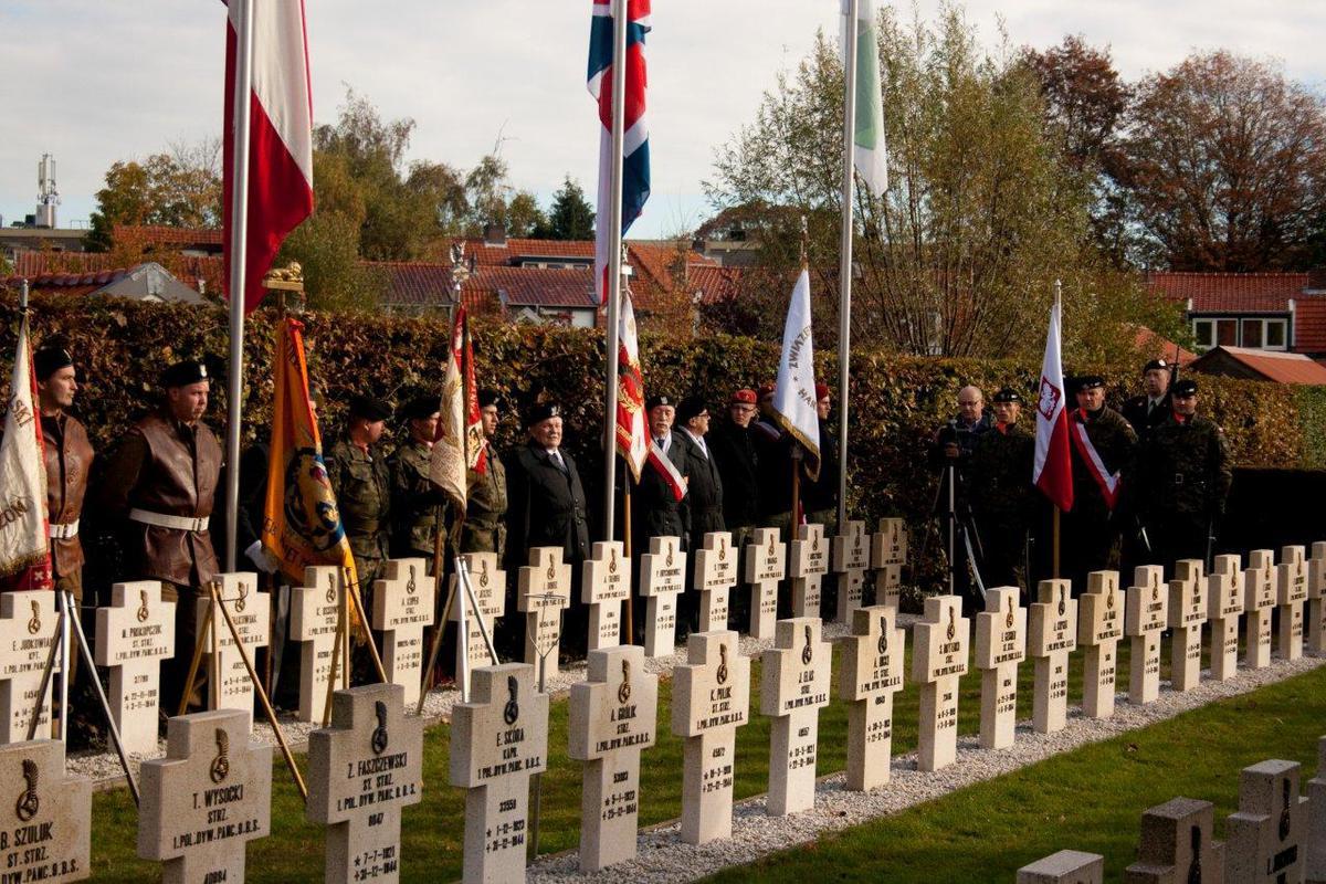 De herdenking van de bevrijding van Breda door de Polen. foto Odyllia Dolne