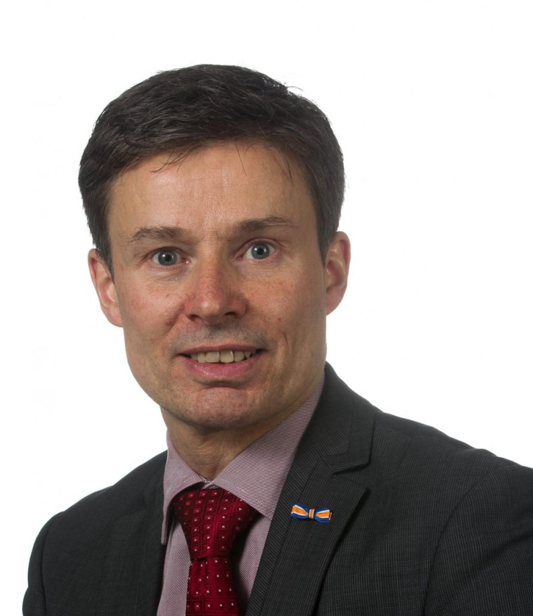 Huub Hieltjes uit Breda is namens de VVD kandidaat voor de Europese verkiezingen in 2014.