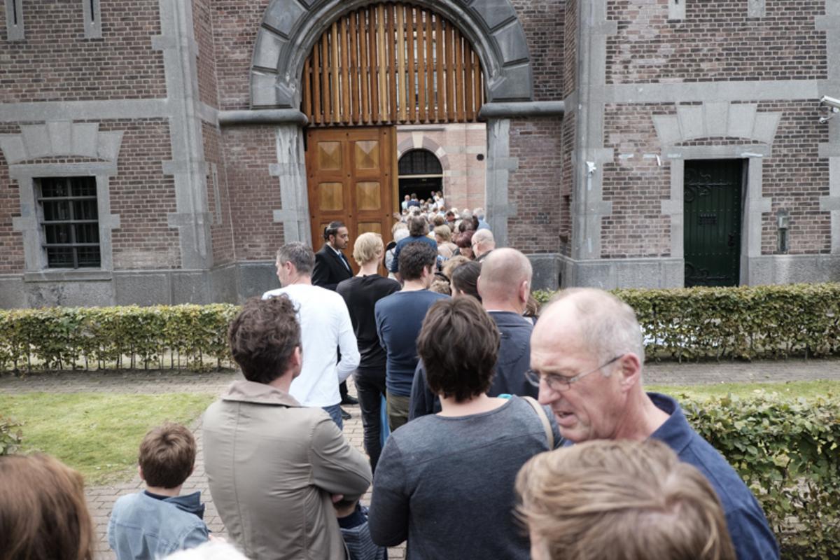 Het was tijdens de Open Monumentendag druk bij De Koepel.