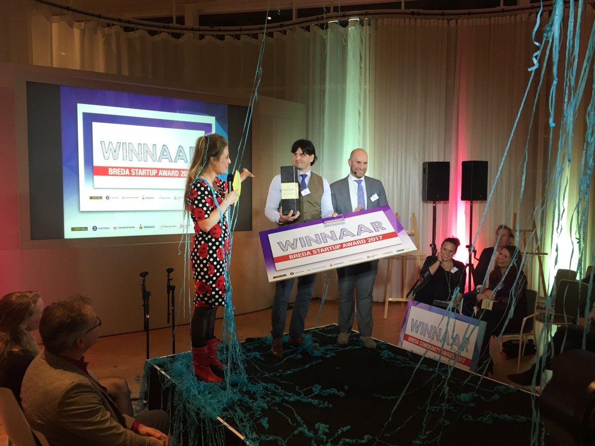 Winnaar Breda Startup Award 2017 Röntgendokter.