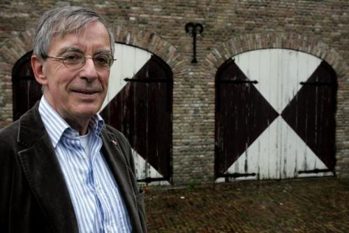 Oud-voorzitter Jan van Winkel van AV Sprint. foto AV Sprint