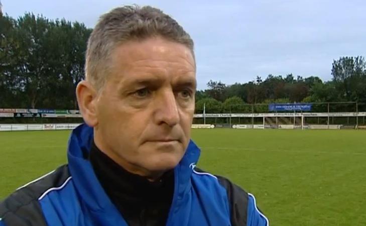 Excelsior-coach John Lammers. beeld YouTube/RTVRijnmond