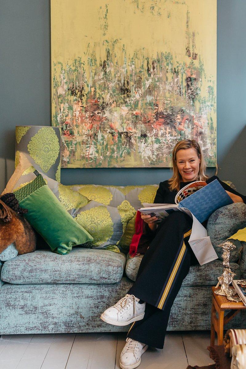 De Bredase kunstenares Kathalijne Hes.