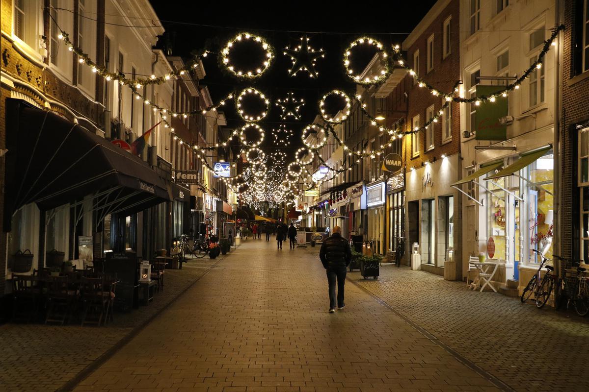 Geen Nieuwe Gezamenlijke Kerstverlichting Binnenstad