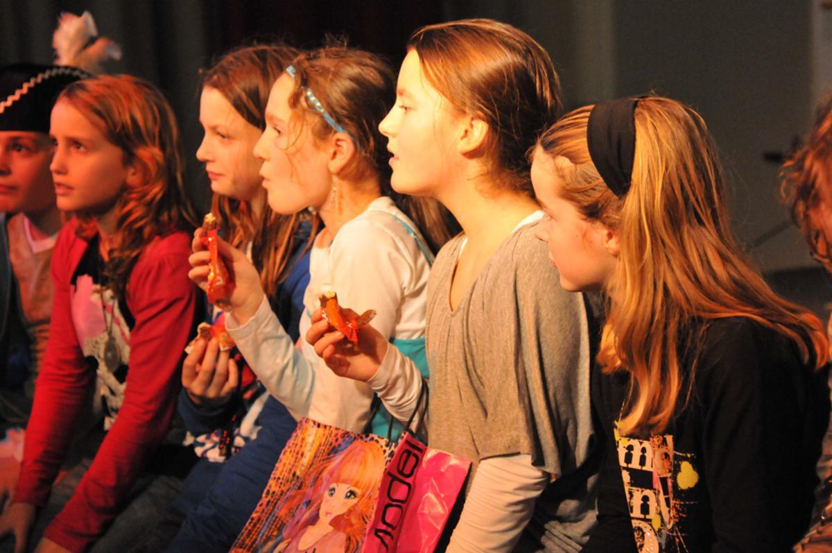 Officiële lancering van het Kielegats schoolproject. foto Perry Roovers