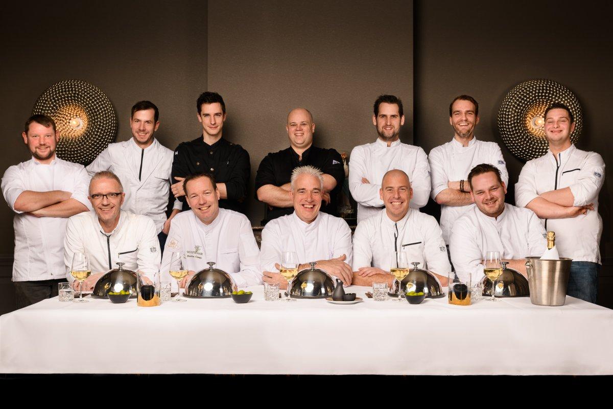 De chefs van de Bredase restaurants die meedoen aan de Smakelijk Breda Restaurantweek.