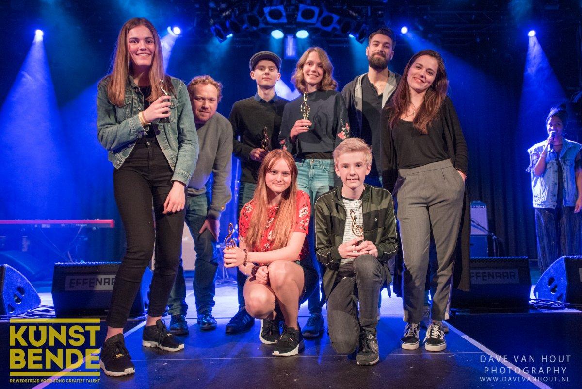 Vijf Bredanaars in Brabantse finales Kunstbende