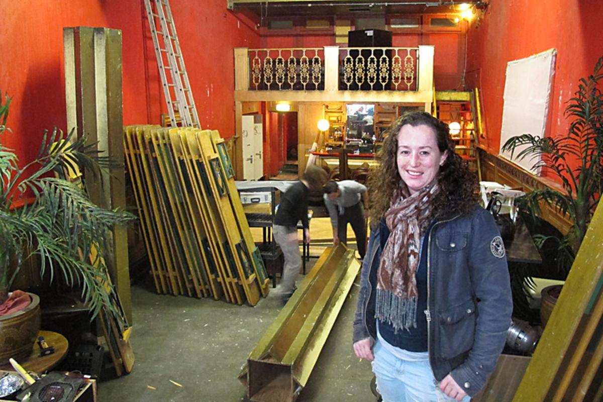 Linda Verhagen is vanaf 1 januari de nieuwe uitbaatster van Café De Boulevard. foto Wijnand Nijs