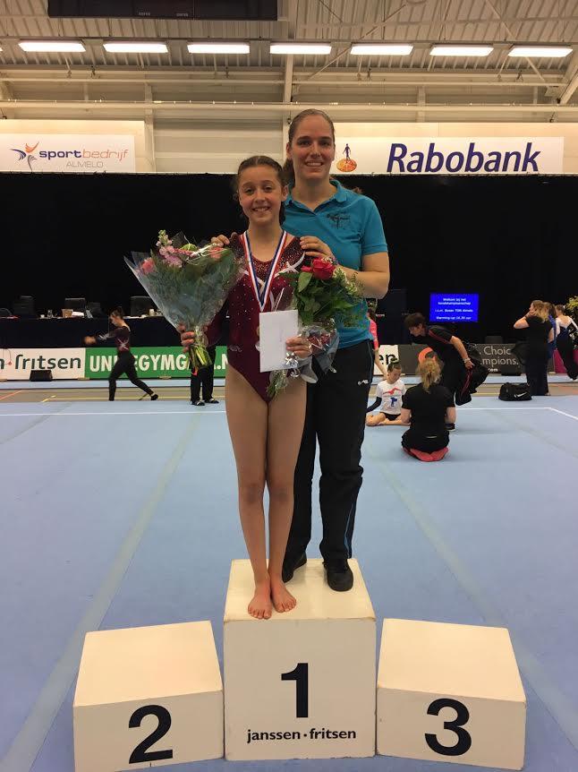 Masha van de Westelaken en trainster Chantal Jorna