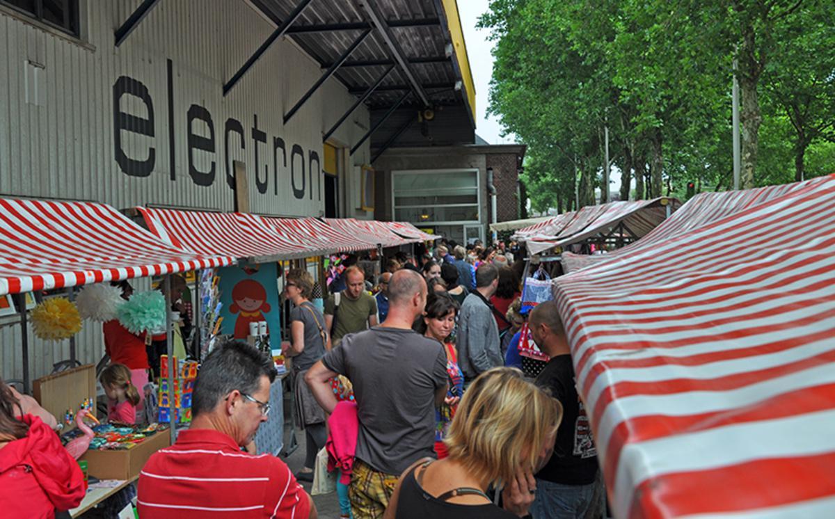 Mercado de Belcrum, editie 2012. foto Nicole van Gool
