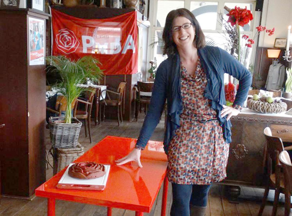 PvdA-lijsttrekker Miriam Haagh gaat de stad in om te praten met Bredanaars.