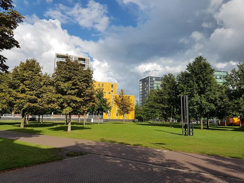 Wisselend bewolkt, Chassépark Breda
