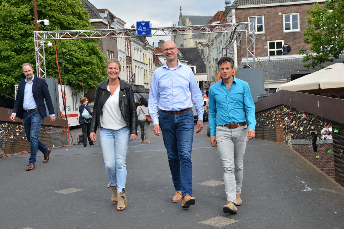 Monique Elst, Wijnand Nijs en Luuk Roozeboom.