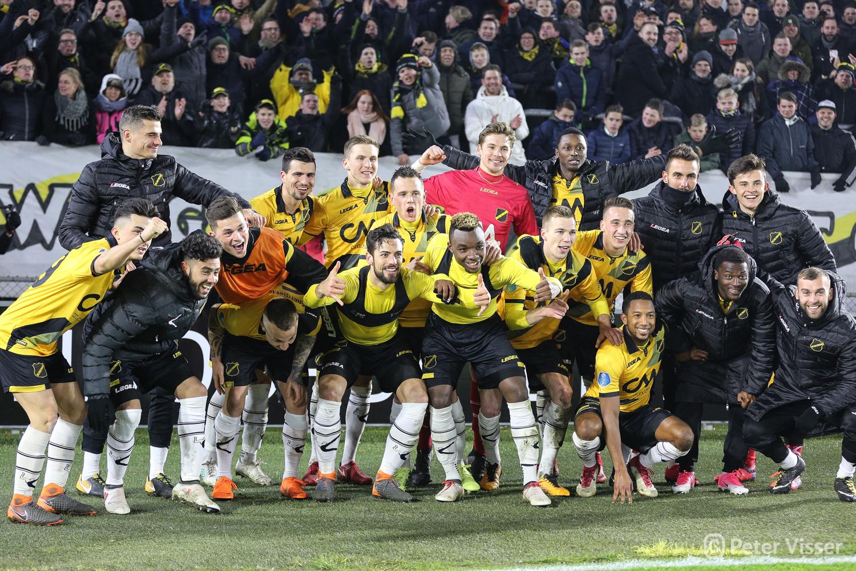 NAC heeft voor de tweede keer in dit seizoen van Feyenoord gewonnen. Op 3 maart werd het in het eigen Rat Verlegh Stadion 2-1.