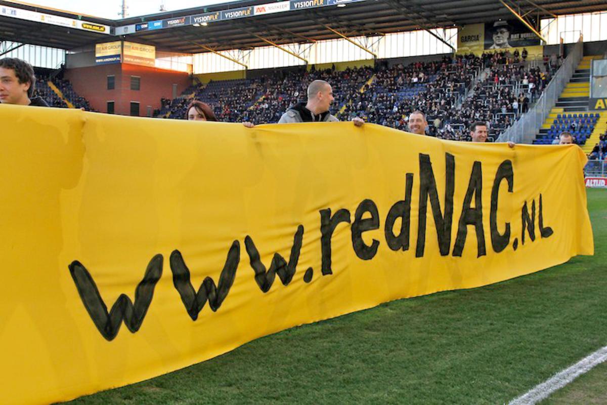 NAC verloor zaterdag 19 maart met 0-1 van Groningen. foto Peter Visser