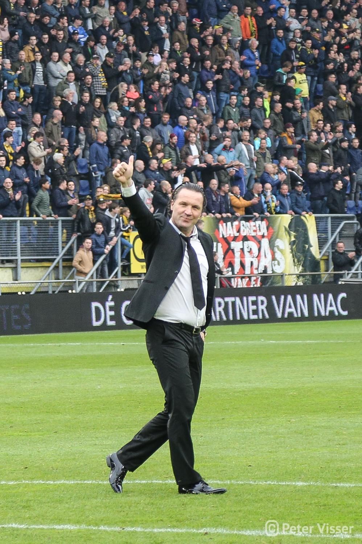 NAC heeft met 3-0 gewonnen van Heerenveen. Daarmee hebben de Bredanaars zich verzekerd van handhaving in de eredivisie.